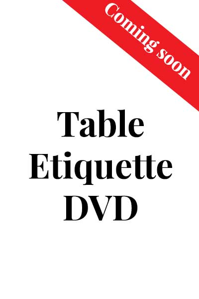 Table Etiquette by Anne Dreyer